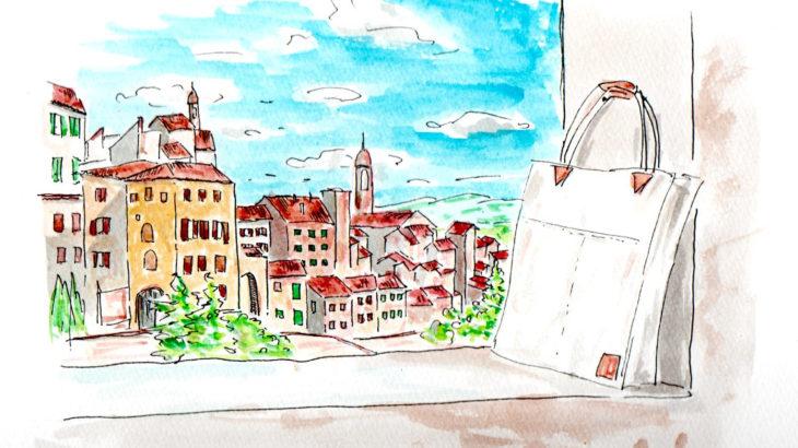 トートバッグのある風景2