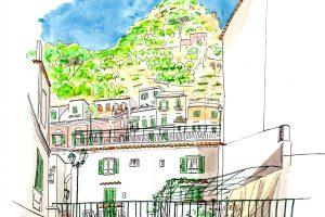 Amalfi アマルフィのYH屋上から