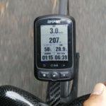 【自転車パーツレビュー】iGP618 格安GPSサイコンの分割表示画面 1項目から最大10項目まで表示可能